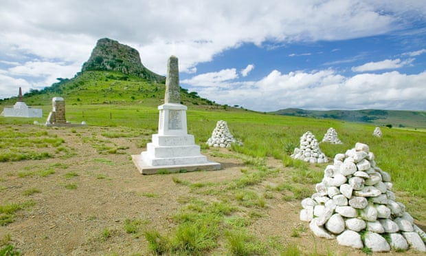 Soldiers' graves at Sandlwana hill, Isandlwana, which normally draws many visitors. Photograph: Joe Sohm/Visions of America/Universal Images Group/Getty Images