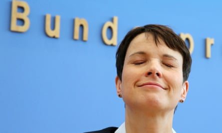 Frauke Petry, leader of the Alternative for Germany (AfD) party.