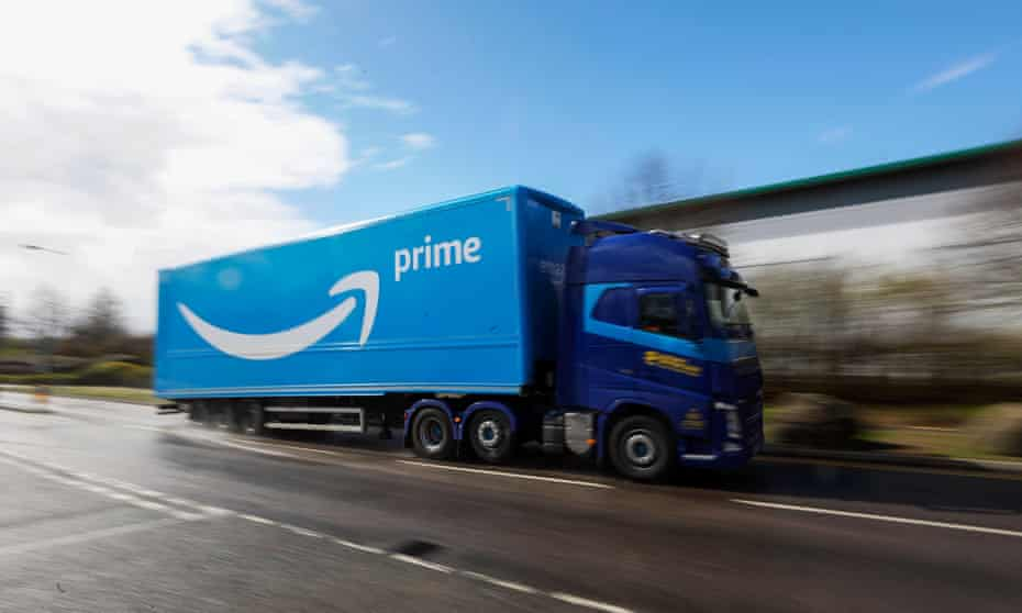The Amazon EU Sarl accounts filed in Luxembourg show 2020 sales rose by €12bn from €32bn in 2019.