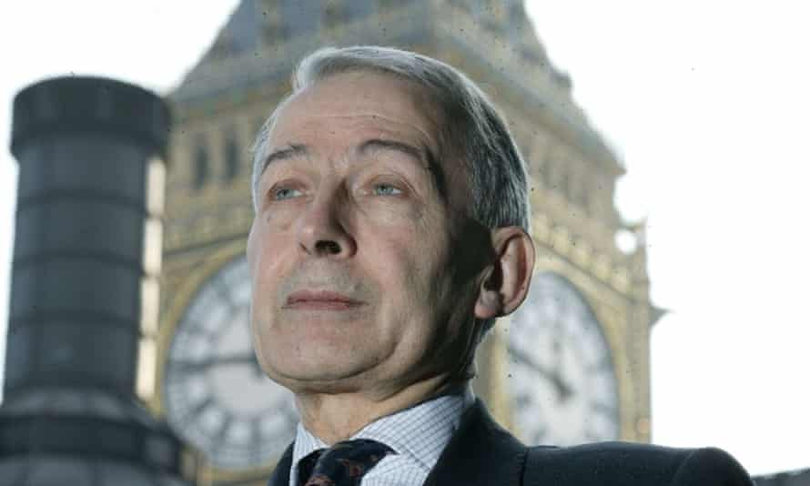 Labour MP Frank Field at Westminster.