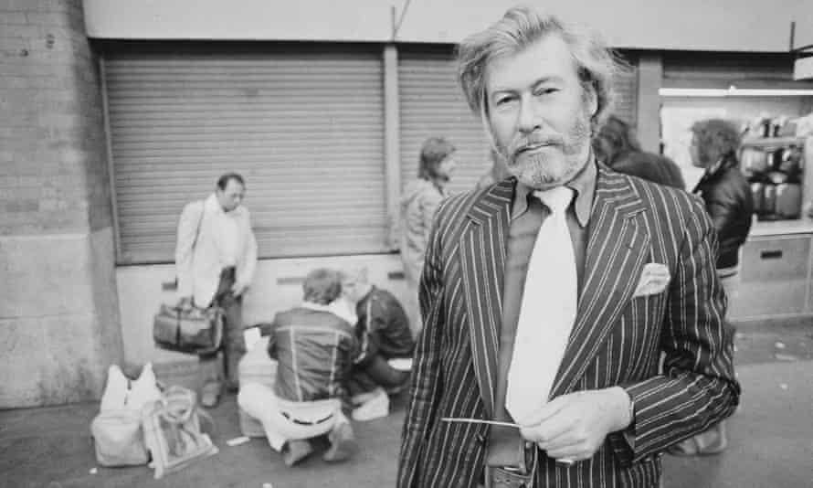 John Osborne, English playwright, screenwriter and actor.