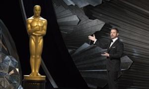 Oscars host Jimmy Kimmel.