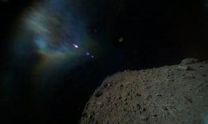 Ryugu asteroid.