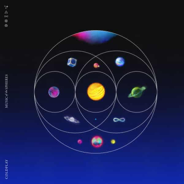 The artwork for Music of the Spheres.