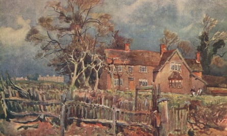 Arbury, Birthplace of George Eliot by Frederick Whitehead, 1906.