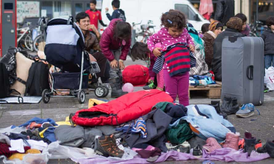 Refugee child