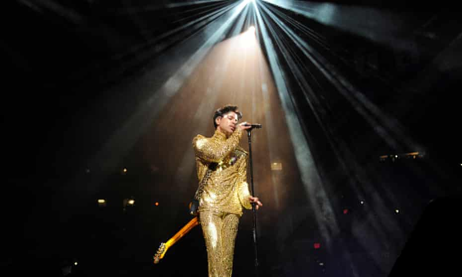 Prince during his Welcome 2 America tour at Madison Square Garden, 7 February, 2011, in New York City.