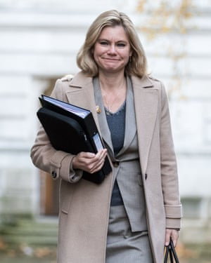 Justine Greening, secretary for education