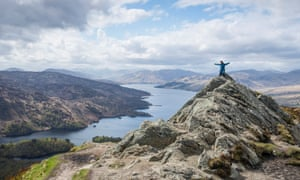 Loch Katrine and the summit of Ben A'an