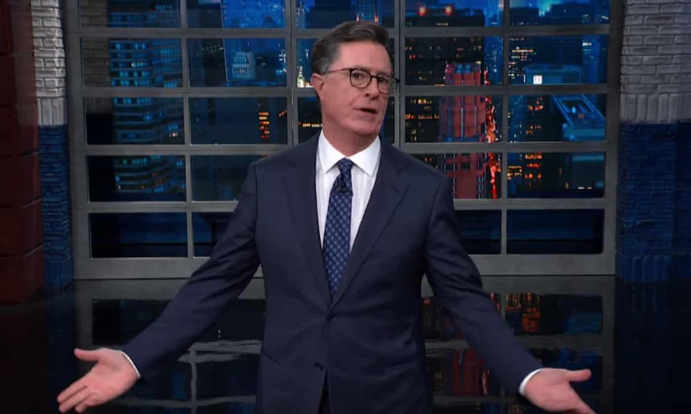 Stephen Colbert to Trump: 'You ran on a racist, anti-immigration platform'