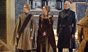 Jack Gleeson as Joffrey Baratheon; Lena Headey as Cersei Lannister; Charles Dance as Tywin Lannister.