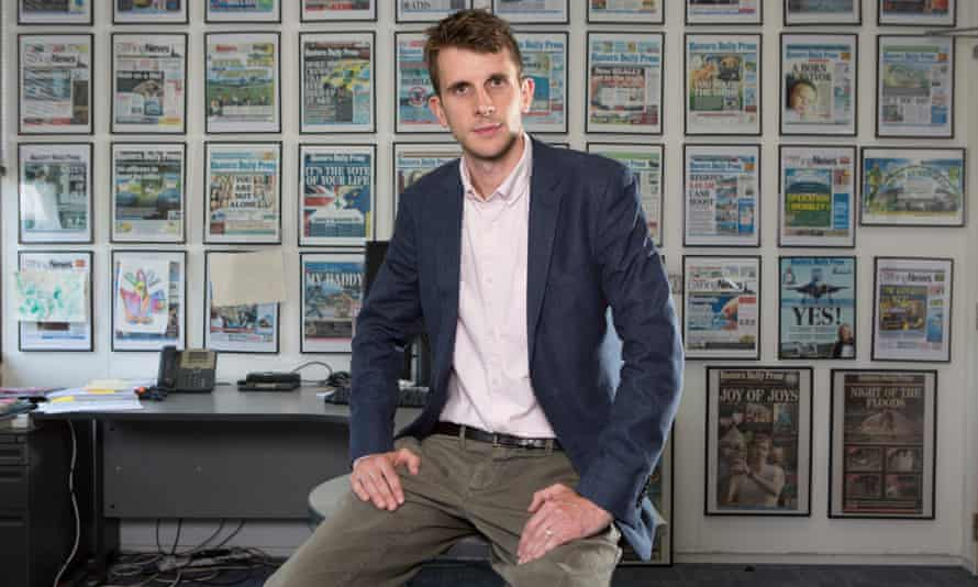 Investigations editor Tom Bristow at the Archant head offices in Norwich.