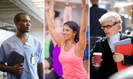 All change … medicine, yoga and law are now attractive career choices.