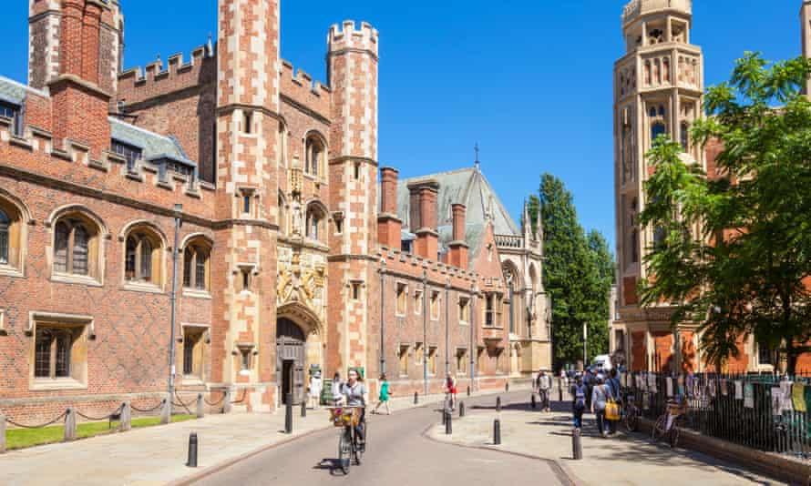 St John's College entrance, Cambridge