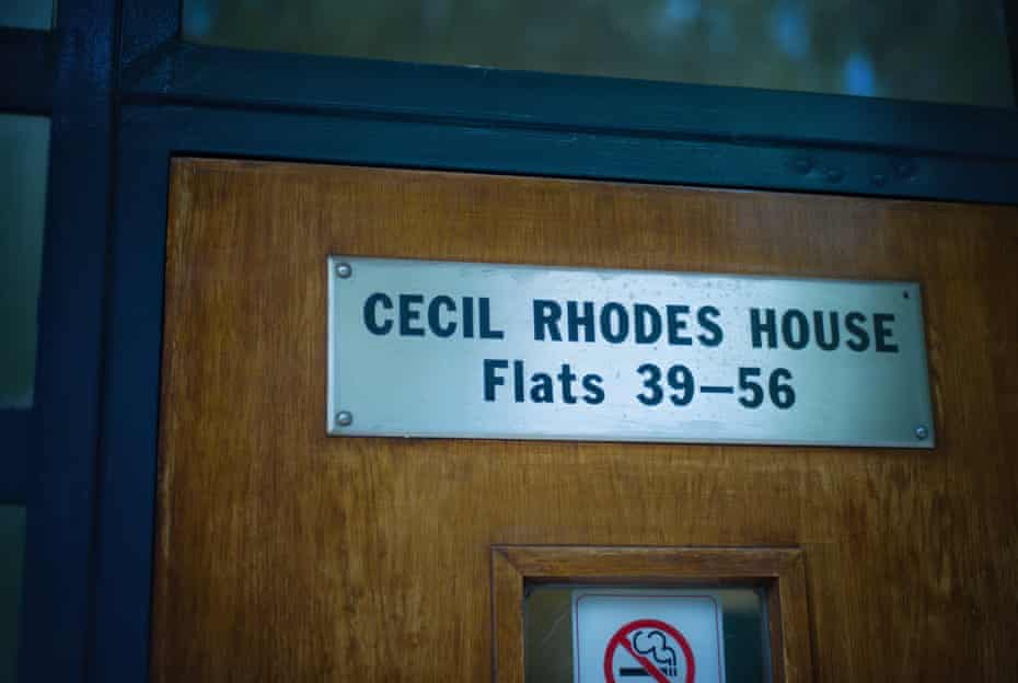 Sign at Cecil Rhodes House