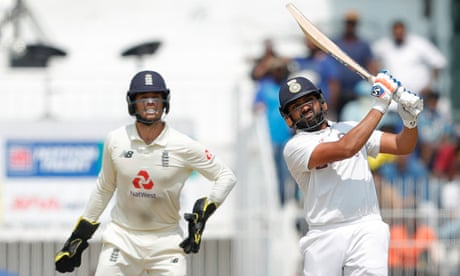Rohit Sharma's 161 puts India in driving seat against England at second Test