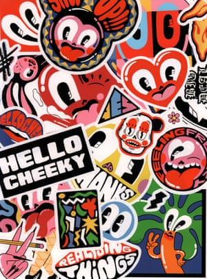 Hattie Stewart - Stickers from Hattie Stewart's Doodlebomb Sticker Book