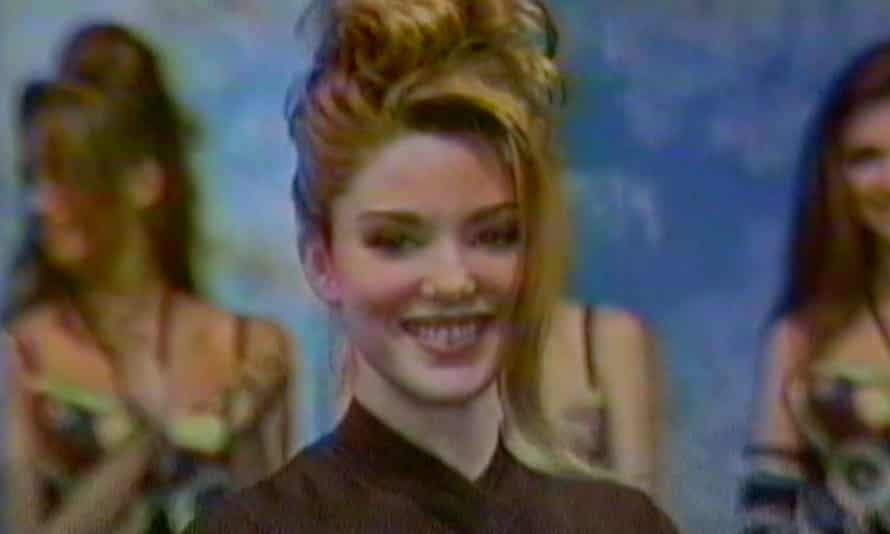 Kate Dillon, in footage from the 1991 contest