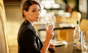 Unravelling in the aftermath of her husband's affair … Suranna Jones as Gemma in Doctor Foster.