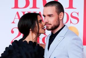 Cheryl and Liam Payne.