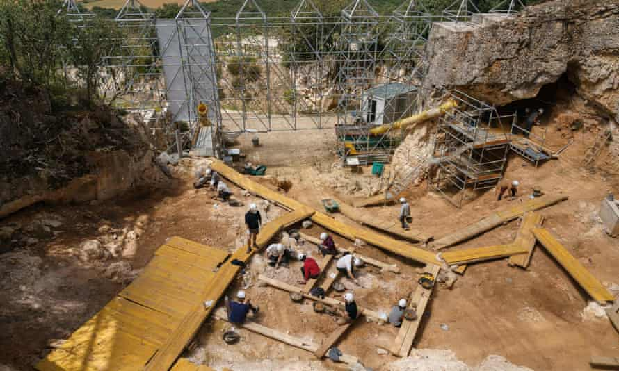 The site at Sima de los Huesos was a mass grave 400,000 years ago.