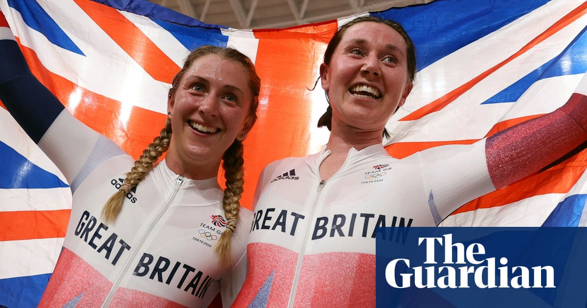 Laura Kenny becomes first British woman to win gold at three Olympics