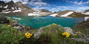 Summer at Handies Peak in Colorado, the highest point of land managed by the BLM at over 14,000 feet