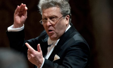 Russian conductor Vassily Sinaisky in 2012.