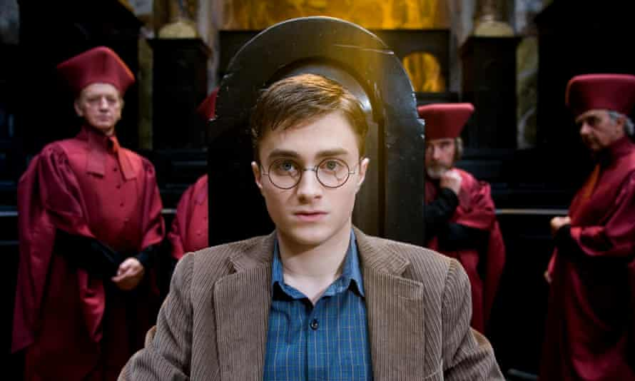 Daniel Radcliffe in Harry Potter and the Order of the Phoenix (2007), directed by David Yates.