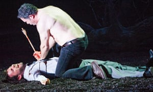 A violent scene from Guillaume Tell at the ENO