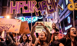 International Women's Day in Istanbul