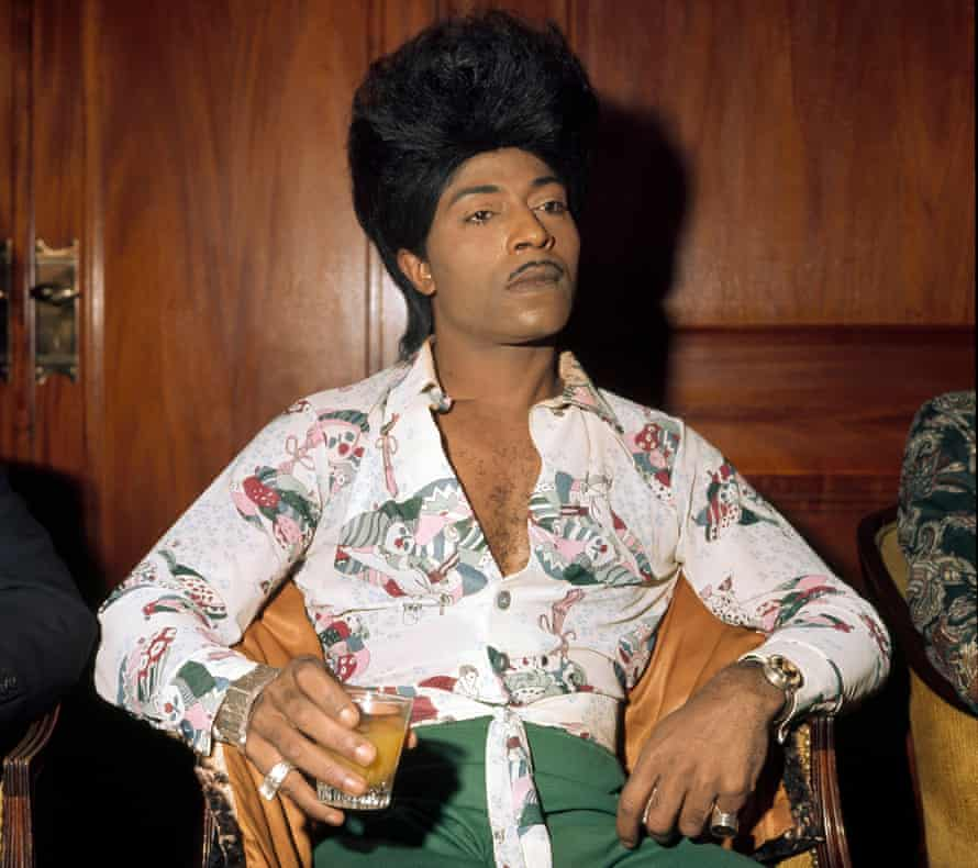 'I'm the King of the Blues – and the Queen too!' … Little Richard.