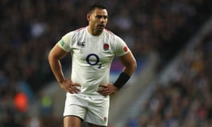 Ben Te'o was omitted from England's World Cup squad after an altercation with Mike Brown at a training camp in Treviso.