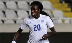 England's Eni Aluko