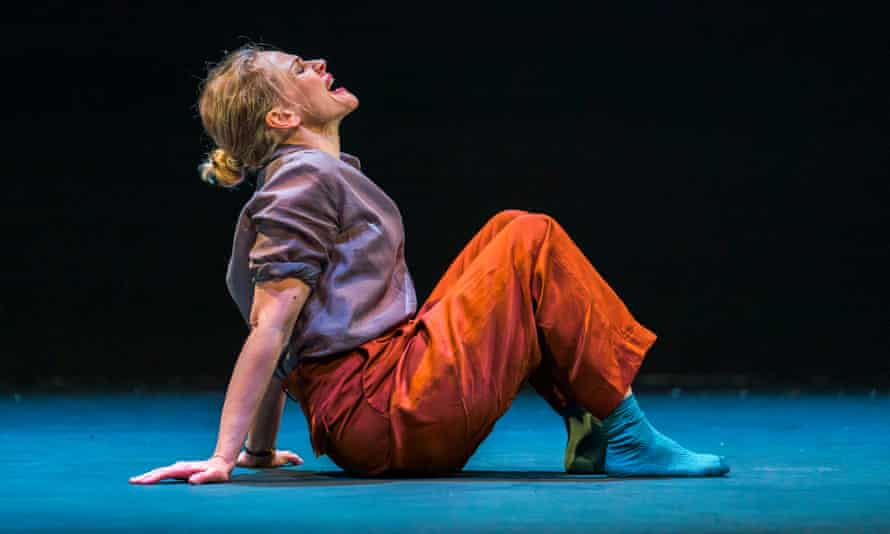 Maxine Peake in Avalanche: A Love Story at the Barbican in 2019.