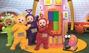 Baby language from the Teletubbies