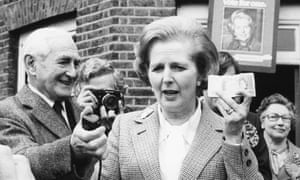 Margaret Thatcher in 1979