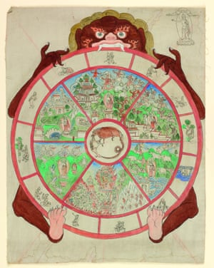 Tibetan Thangka, included in Talking Maps