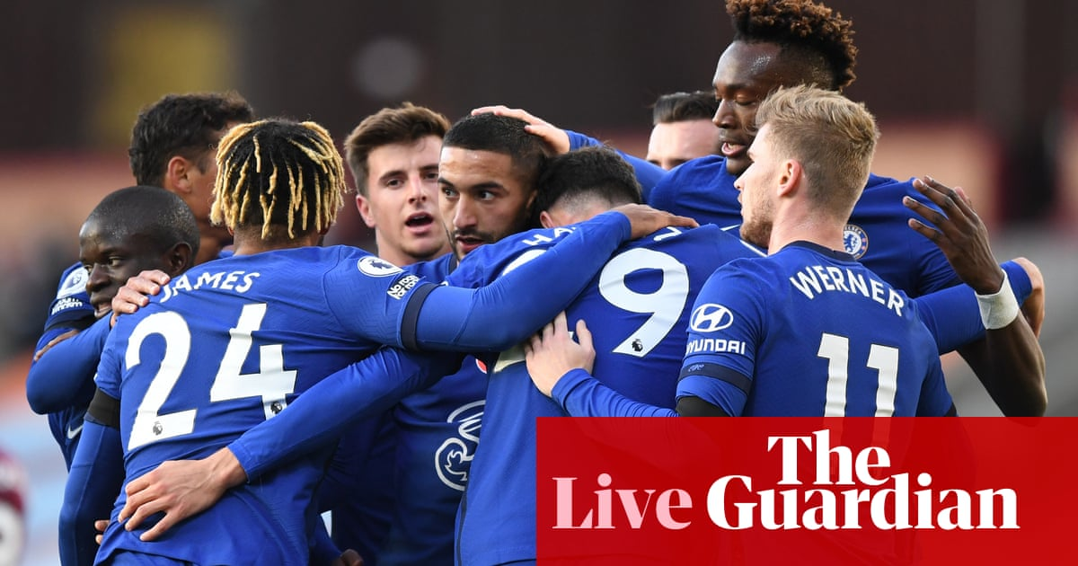Burnley v Chelsea, Football League and more: clockwatch – live!