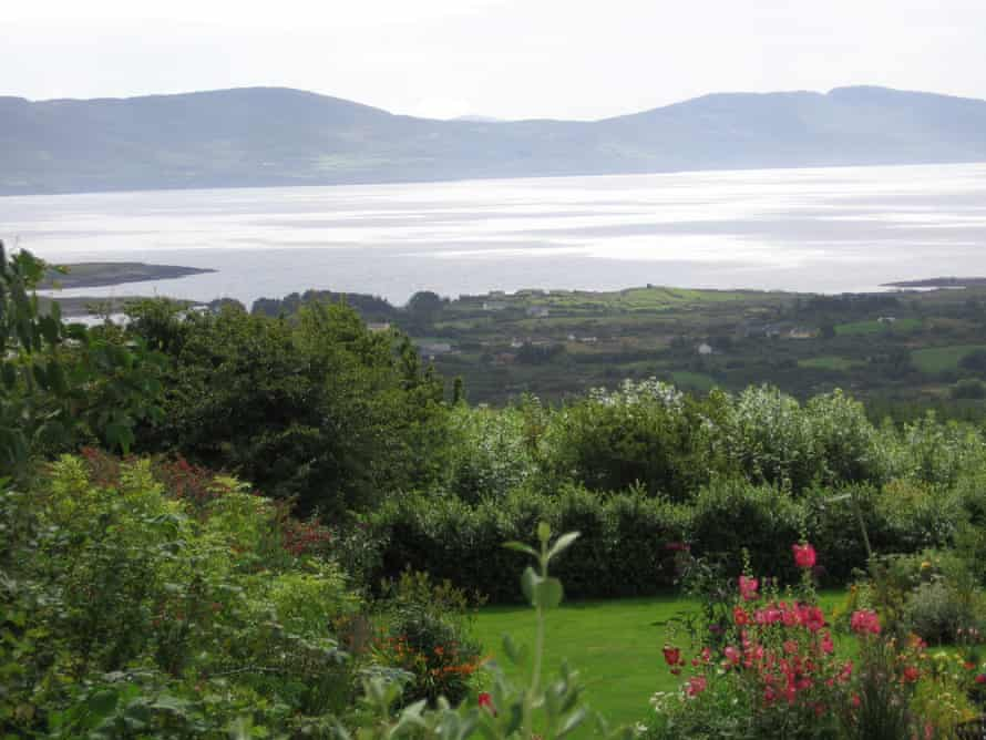 Sea view from Passaddhi Meditation Center, Ireland.  P.