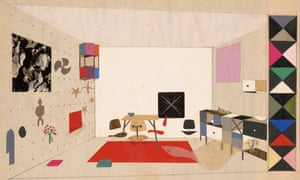 An Eames office design from the 'handsome' World of Ray and Charles Eames.