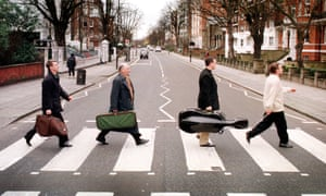 Members of the BBC Symphony Orchestra in Abbey Road