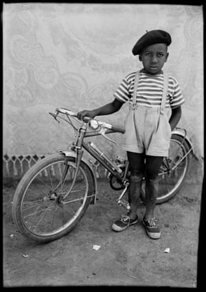 Seydou KeïtaUntitled portrait, 1950sThe decisions for any photographer when making a posed portrait are myriad - they can be conceptual or instinctive, formal or reactive – but the success of the picture is always more about mastery of the medium than the luck of the moment.  Seydou Keïta lived in Bamako, Mali, where he ran a successful portrait studio from the 1950s to early '60s taking pictures of local individuals and families.Posed is at the Danziger Gallery in New York until 18 January 2020