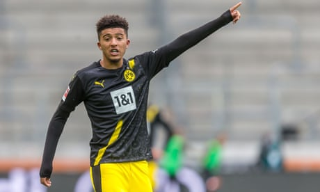Dortmund tell Manchester United €90m is nowhere near enough for Jadon Sancho
