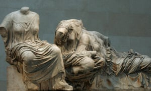Makes The Kiss look like soft porn … marble goddesses from the Parthenon.