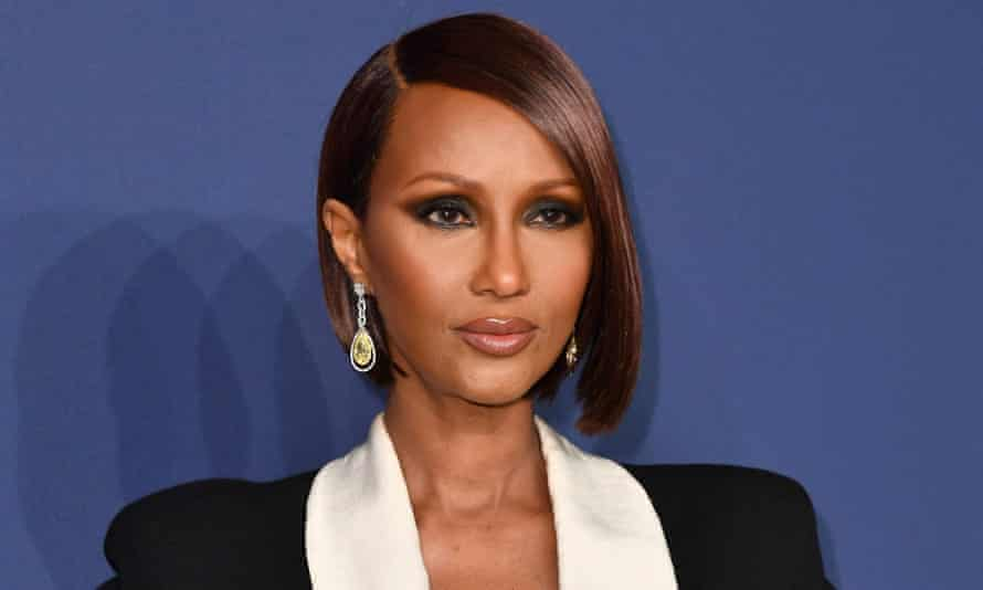 Iman in New York City on 5 February 2020.