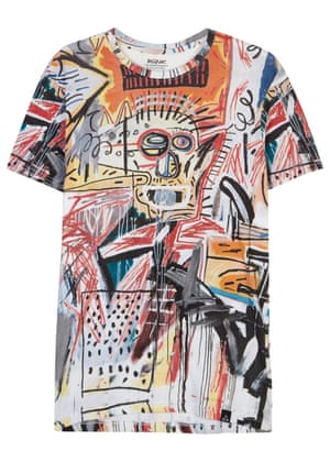 t-shirt with scribble design