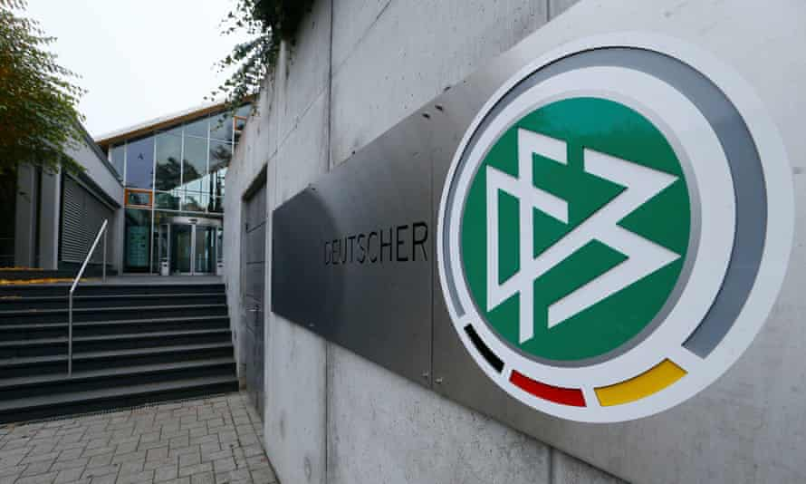 The DFB headquarters in Frankfurt, Germany.