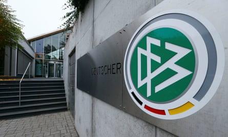 The DFB headquarters in Frankfurt, Germany.