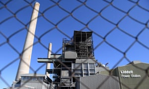 Liddell Power Station in Muswellbrook